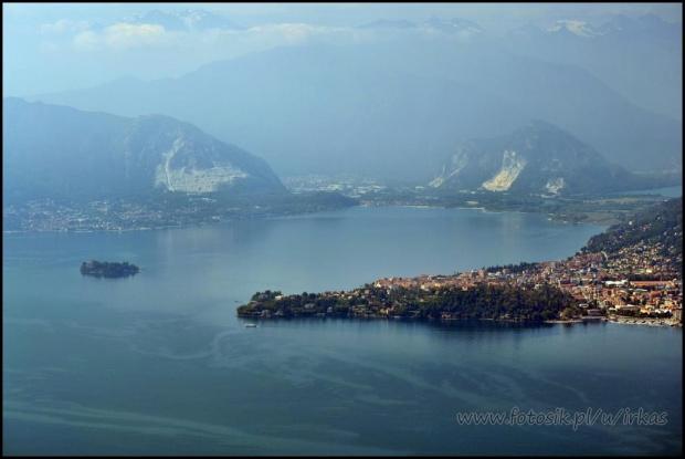 #Funivie #jezioro #Maggiore #Włochy #Wyciąg