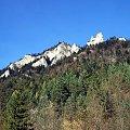 Trzy Korony z Wąwozu Szopczńskiego #góry #pieniny #TrzyKorony #WąwózSzopczański