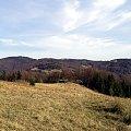 Piorunowiec i Gorc spod Przechyby #góry #beskidy #gorce #bieniowe #gorc #przysłop
