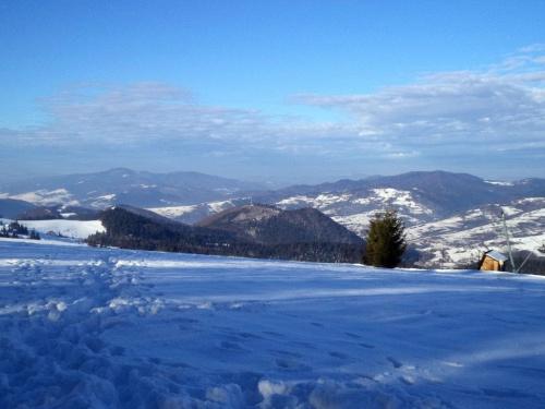 Lubań i Dzwonkówka spod Durbaszki #góry #pieniny #homole #wysoka #durbaszka