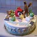 Angry birds #AngryBirds #gra #toty #tort #TortyOkazjonalne
