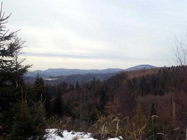 Pasmo Radziejowej spod Szczoba #góry #beskidy #BeskidSądecki #RuskiWierch #obidza #rozdziela #BiałaWoda