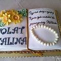 Torcik dla solenizantki #Halina #TortyOkazjonalne #tort #Urodziny70