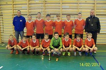 Turniej młodzików w Lubaniu.