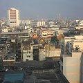 Widok z 8 piętra hotelu Grand China w Bangkoku #azja #podróże #tajlandia #bangkok #GrandChina