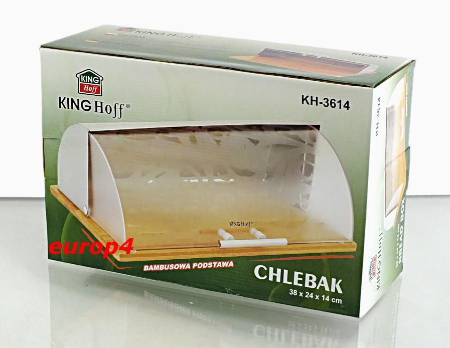 Chlebak metalowy KingHoff KH 3614 pudełko