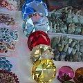Szmaragdy, diamenty, rubiny i szafiry po milion karatów każdy ;) #Tajlandia #MaeSai #azja