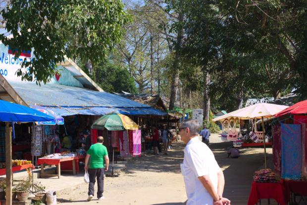 Na bazarze w laosie #ZłotyTrójkąt #Mekong #ltajlandia #birma #laos