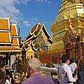 W swiatyni Doi Suthep #azja #tajlandia #DoiSuthep