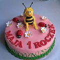pszczółka maja #maja #PszczółkaMaja #tort #TortyOkazjonalne #biedronki #torty