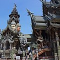 Świątynia prawdy w miejscowości Pattaya #ŚwiątyniaPrawdy #tajlandia