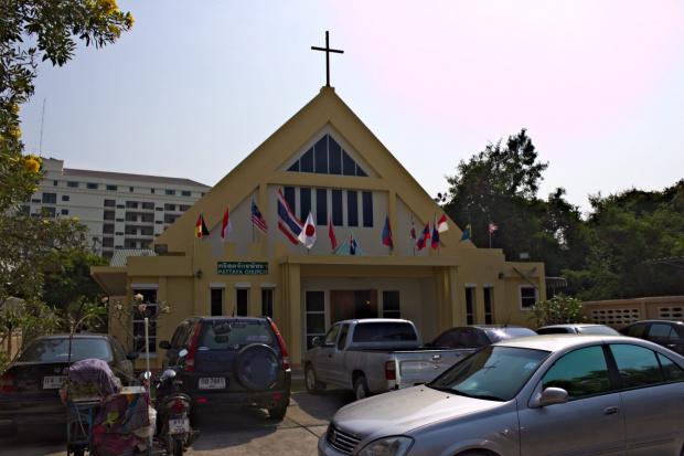 Kościół Protestancki w Pattaya #azja #pattaya #tajlandia