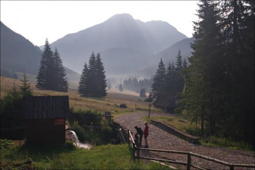 Dolina Chochołowska #DolinaChochołowska #góry #KominiarskiWierch #Lipiec2014 #Tatry #TatryZachodnie