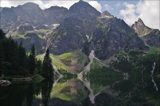 #góry #Mnich #Lipiec2014 #MorskieOko #Tatry