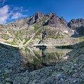 Wielki Żabi Staw Mięguszowiecki... #arietiss #góry #krajobraz #panorama #Tatry