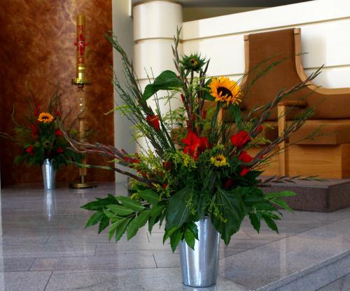 koniec urlopu, koniec wakacji, kończy się lato ... czas wracać do pracy :) #bukiety #Kędzierzyn #kościół #kwiaty