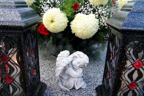 Zaduszkowy spacer po cmentarzu #cmentarz