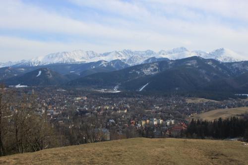 Wchodzimy dalej na Gubałowkę, a widoki coraz piękniejsze #góry #Tatry #Zakopane
