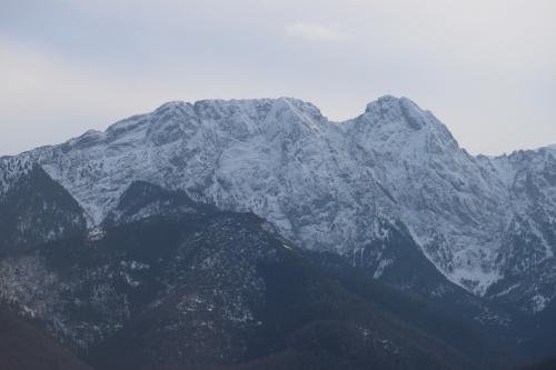 Giewont w całej krasie - widok ze szlaku na Gubałówkę #góry #Tatry #Zakopane