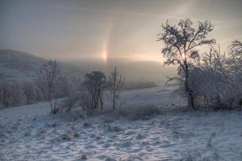 O świcie... #arietiss #krajobraz #zima