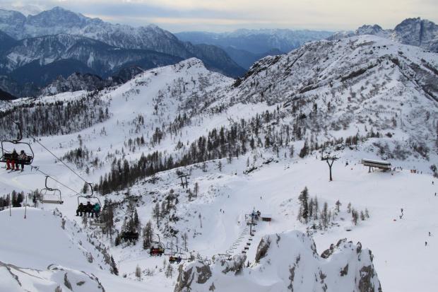 Ulubiony widok z Gartnerkofel #Alpy #Austria #Narty #Nassfeld