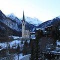 Heiligenblut - kościół Św. Wincentego #Alpy #Austria #Narty #Nassfeld