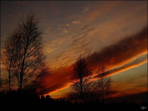 Kocham takie zachody Słońca ...