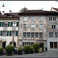 Stein am Rhein-mozna wypic kawe i podziwiac cudowne freski #architektura