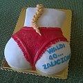 Tort dla Pana na 40 -tkę #warkocz #TortyOkazjonalne #StringiTorty