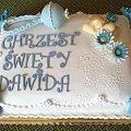 tort na chrzciny dla Dawida #chrzciny #TortyNaChrzciny #chrzest