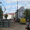 Olsztyn - budowa linii tramwajowej - 2015.05.12 #Olsztyn