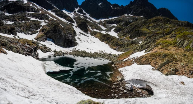 Zmarzły Staw... #arietiss #góry #krajobraz #panorama #Tatry
