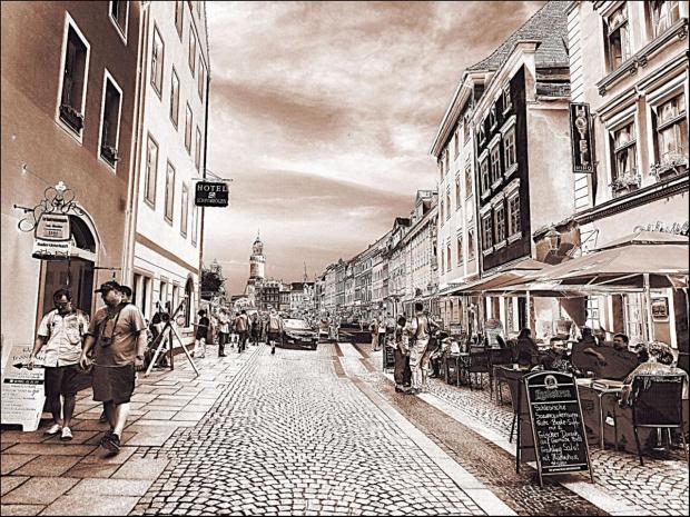 Görlitz, Brüderstraße. Do poczytania: http://www.goerlitz.de/pl/ Polecam również: http://poznajsaksonie.pl #Goerlitz #Saksonia #FreistaatSachsen #Niemcy #Deutschland