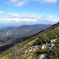Pasmo Policy ze szlaku na Babią Górę #góry #beskidy #BeskidŻywiecki #BabiaGóra